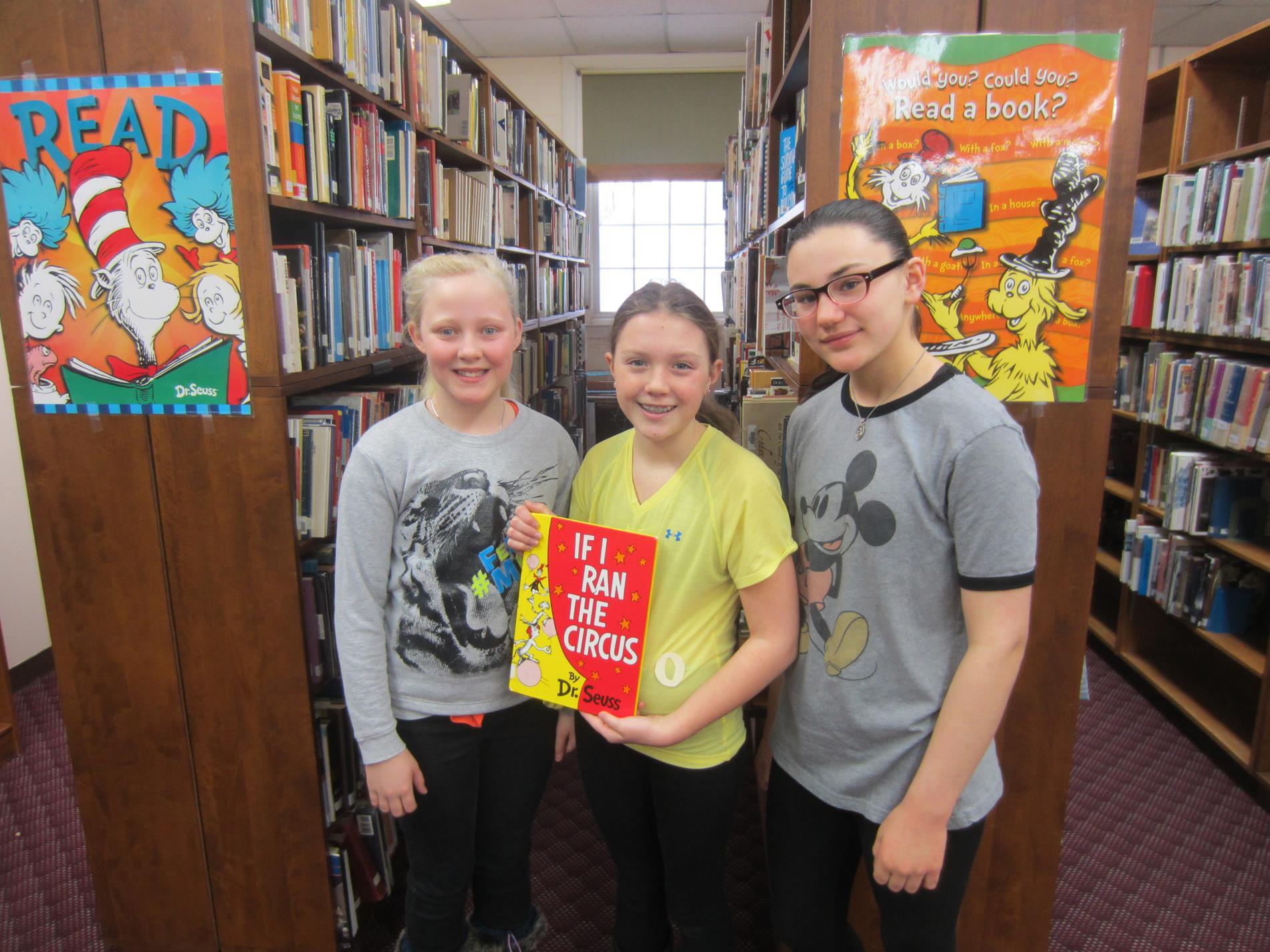Read Across America students