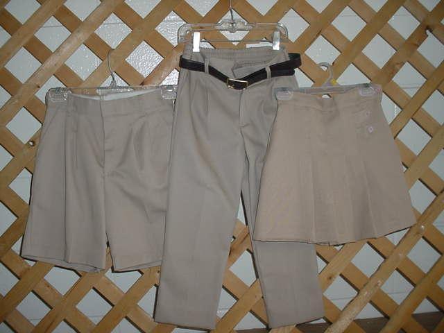 Girls' Uniform Bottoms