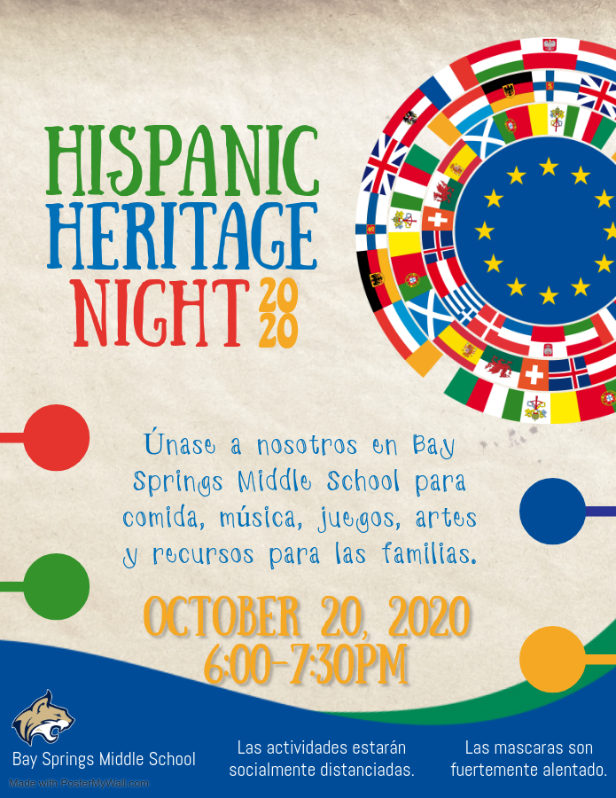 Hispanic Heritage Night - Spanish
