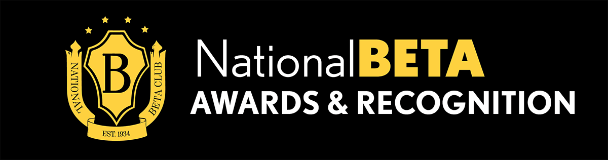 National Beta Awards and Recognition Banner