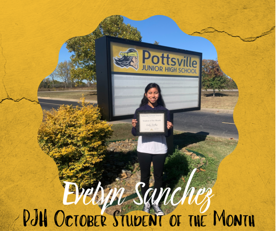 October student of the month image