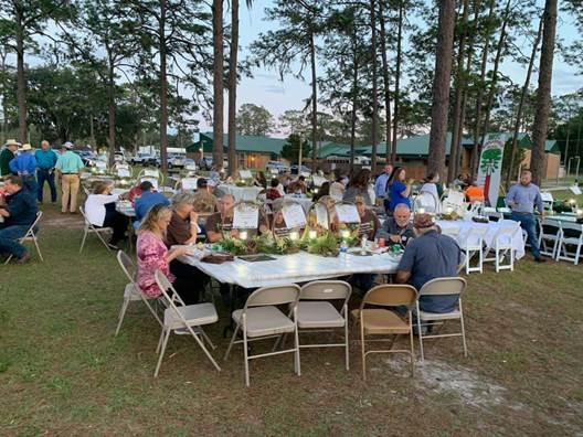 Dinner Under the Pines Fundraiser