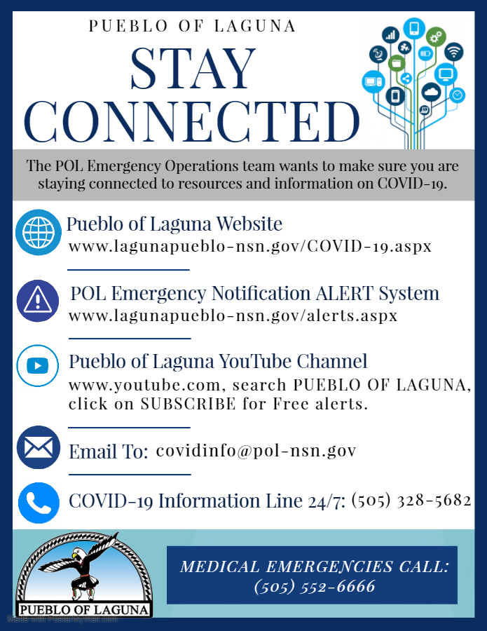 POL Stay Connected Info