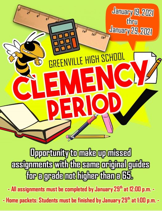 GHS Clemency