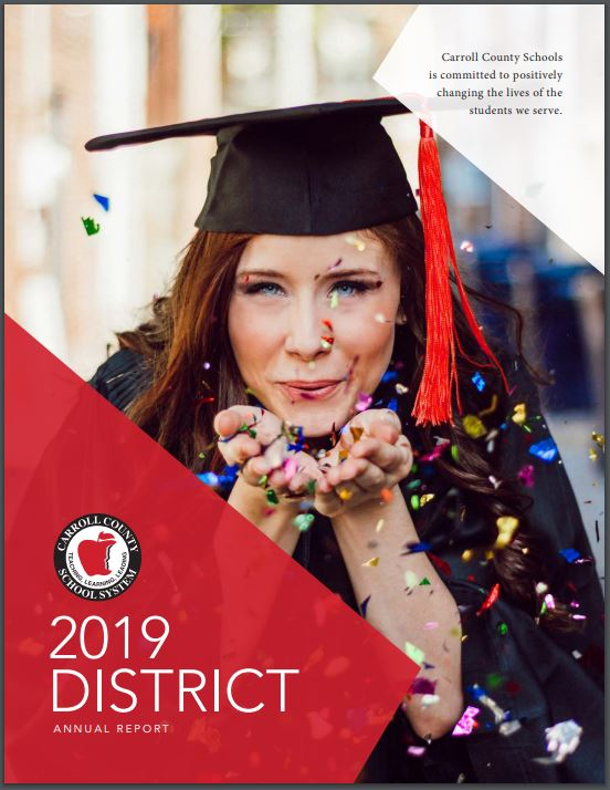 District Annual Report Cover Image