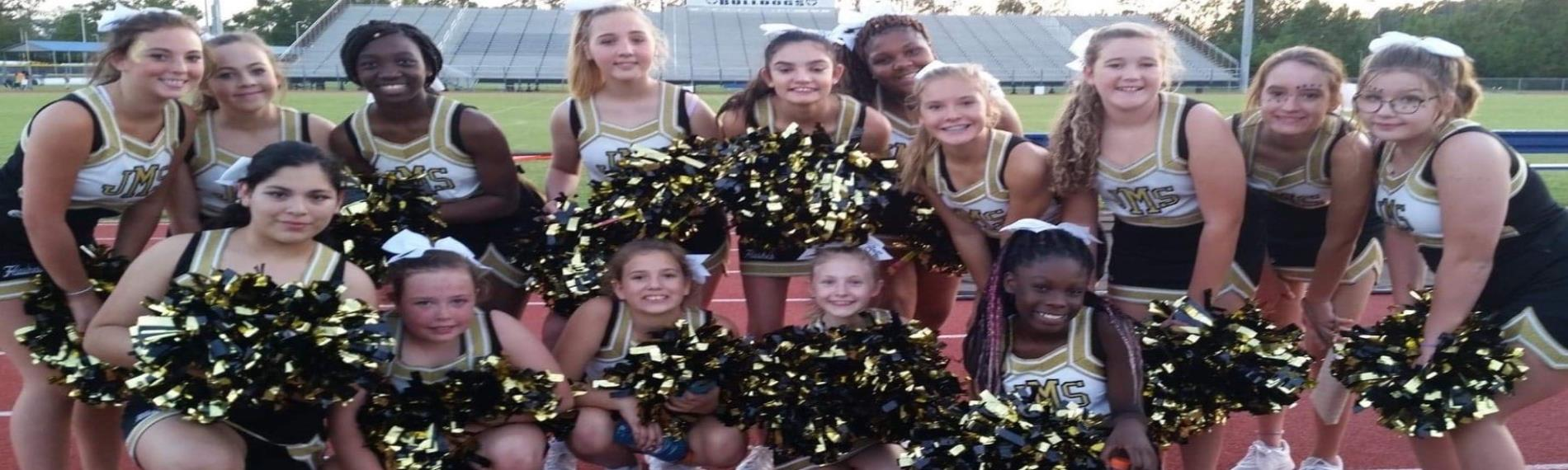 JMS Flashes Cheerleaders