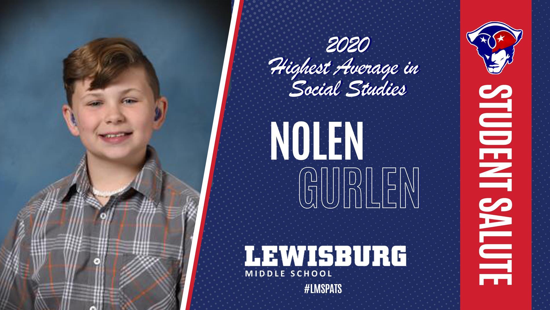 Congrats Nolan!