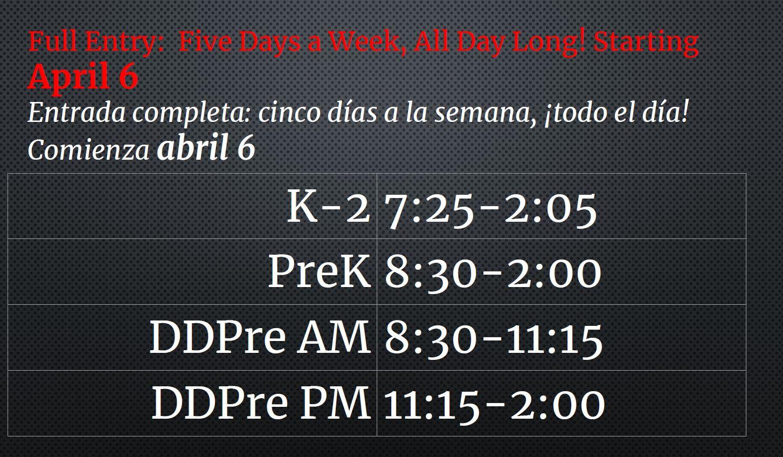 Schedule K-2 and preK