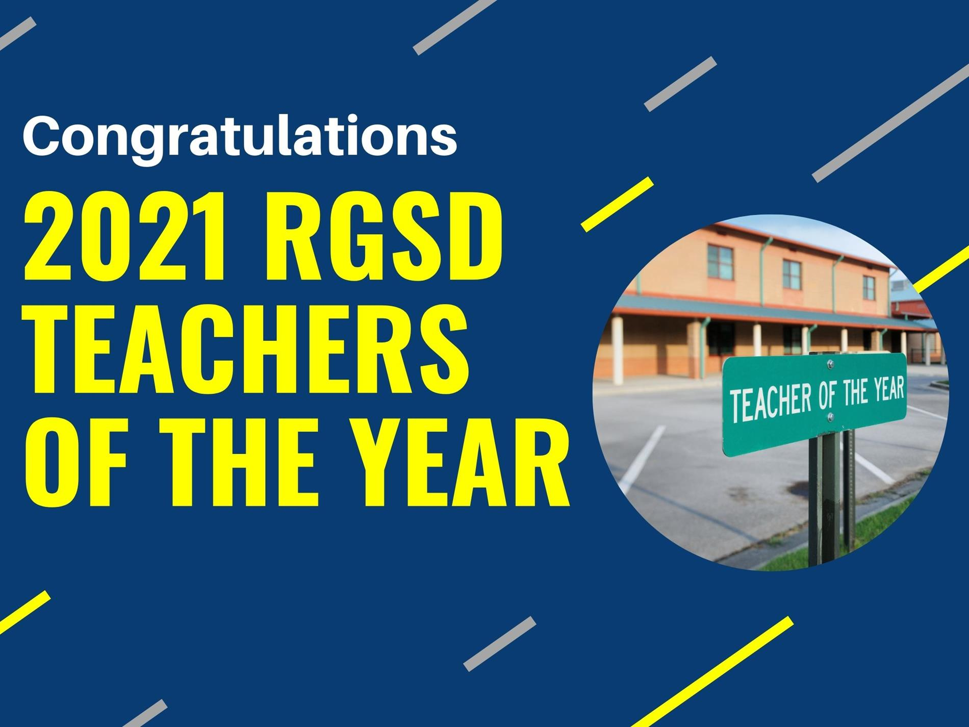 RGSD Teachers of the Year