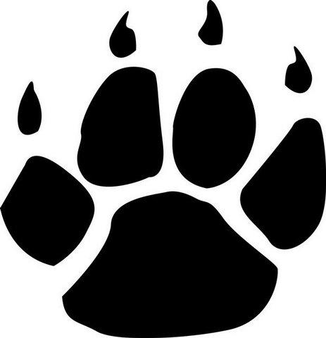 Panther Pawprint Image