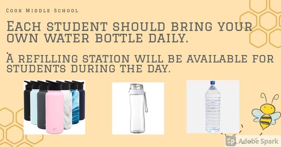 water bottle information
