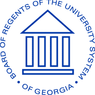 Board of Regents of the University System of Georgia logo and link
