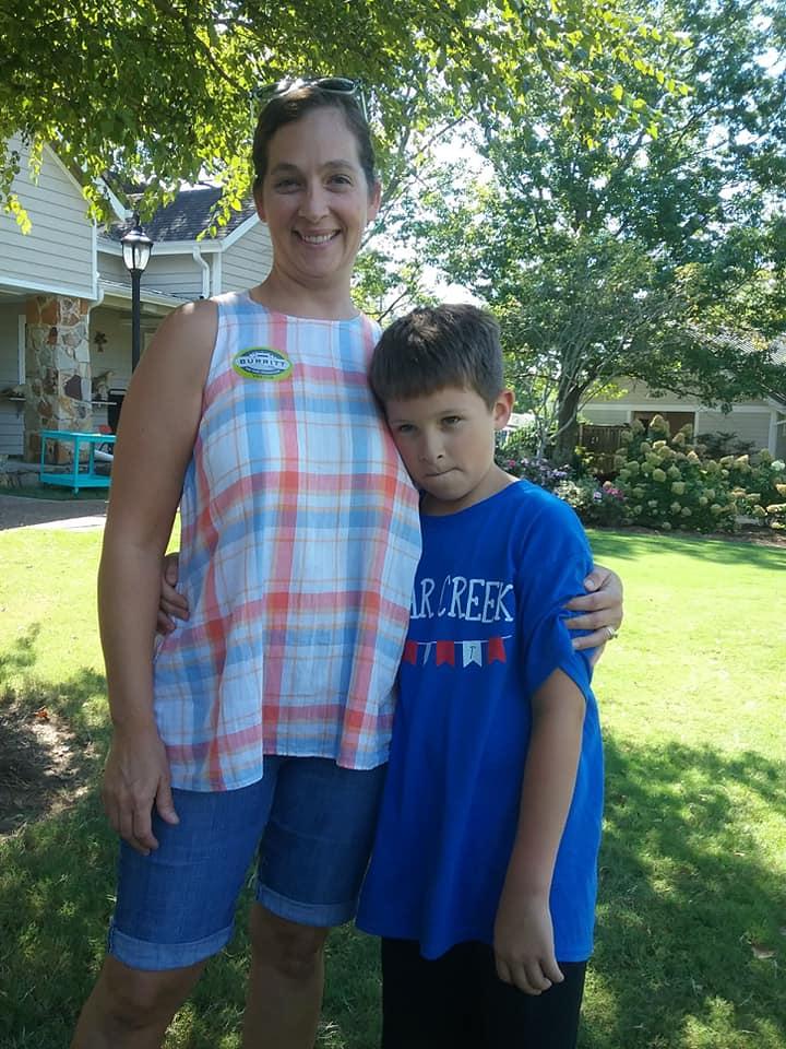 Jesse and Mom