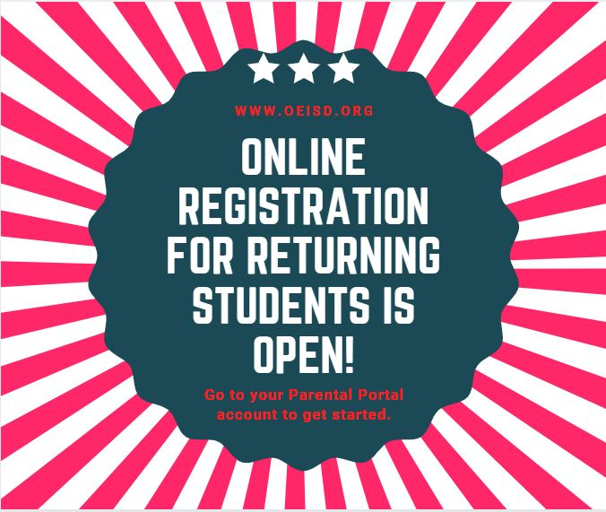 OEISD Student Registration