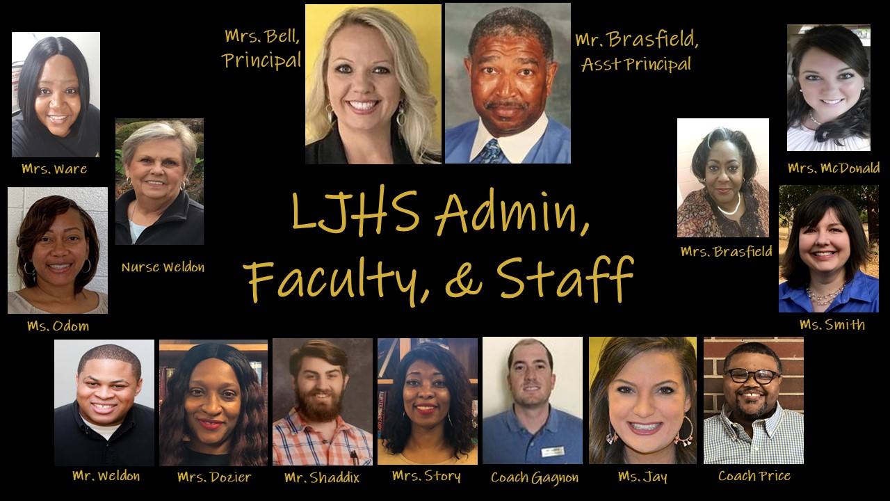 LJHS Admin, Faculty, Staff