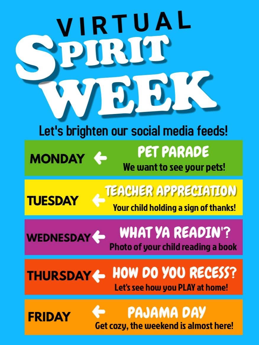 Virtual Spirit Week