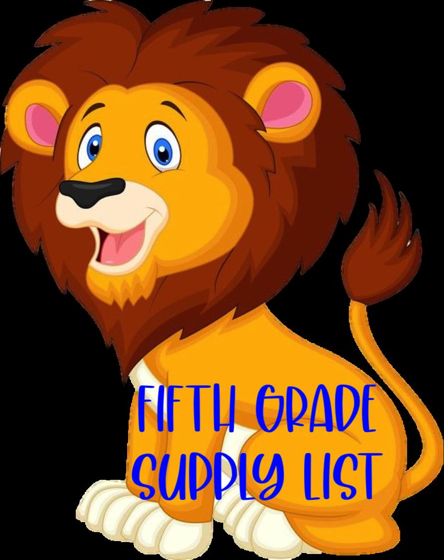5th Supply List