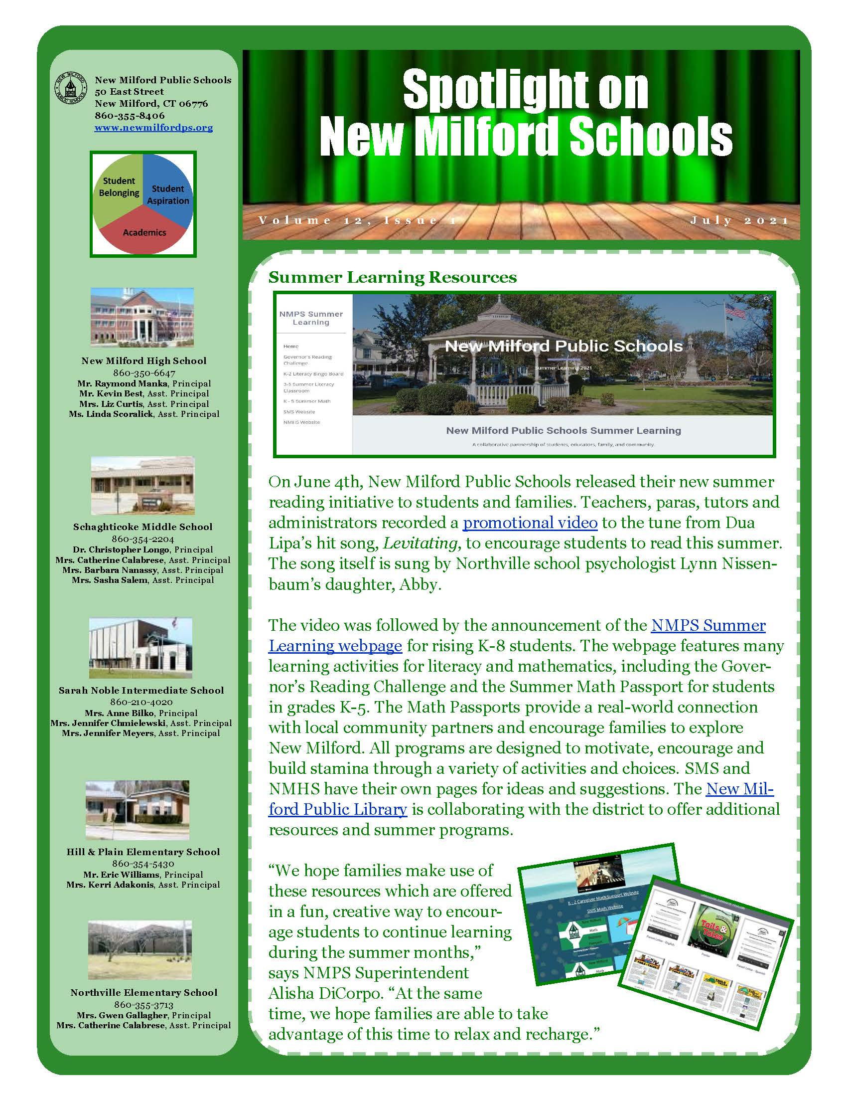 July district newsletter