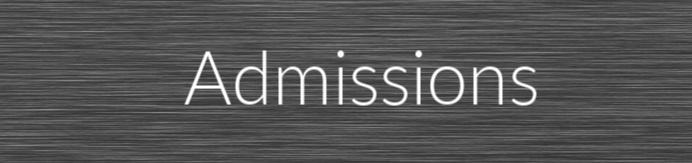 admissions tab