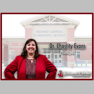 Welcome Dr. Evans