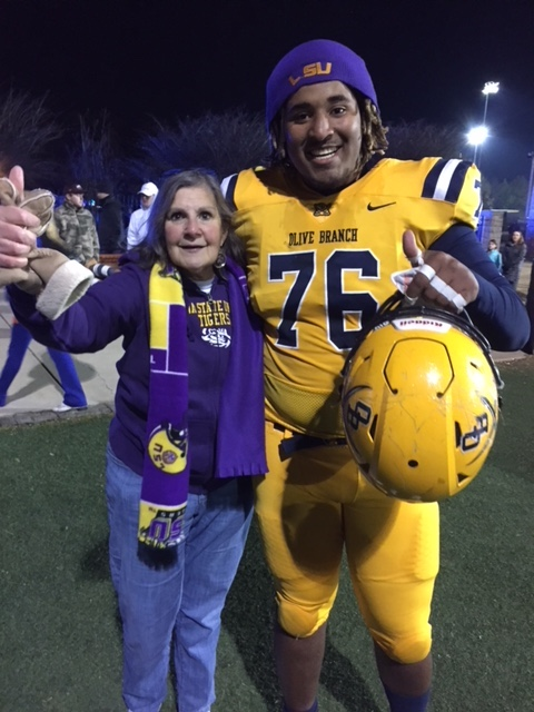 Señora G with Xavier Hill