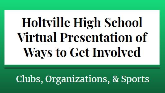 Get Involved at HHS!
