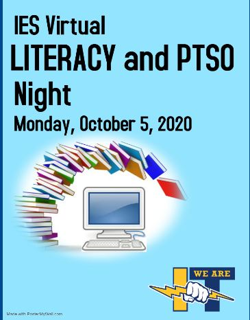Literacy Night Flyer with Date