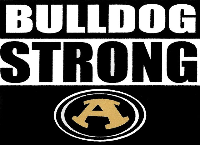 Bulldog Strong Booster Club logo