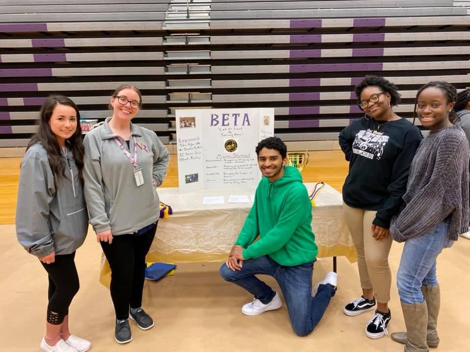 Beta Club members