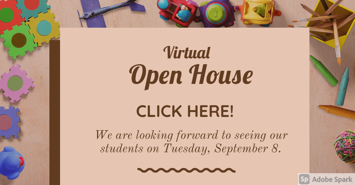 Click here for Open House!