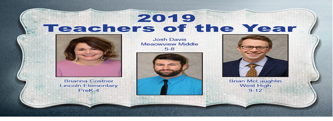 2018-2019 Teachers of the Year