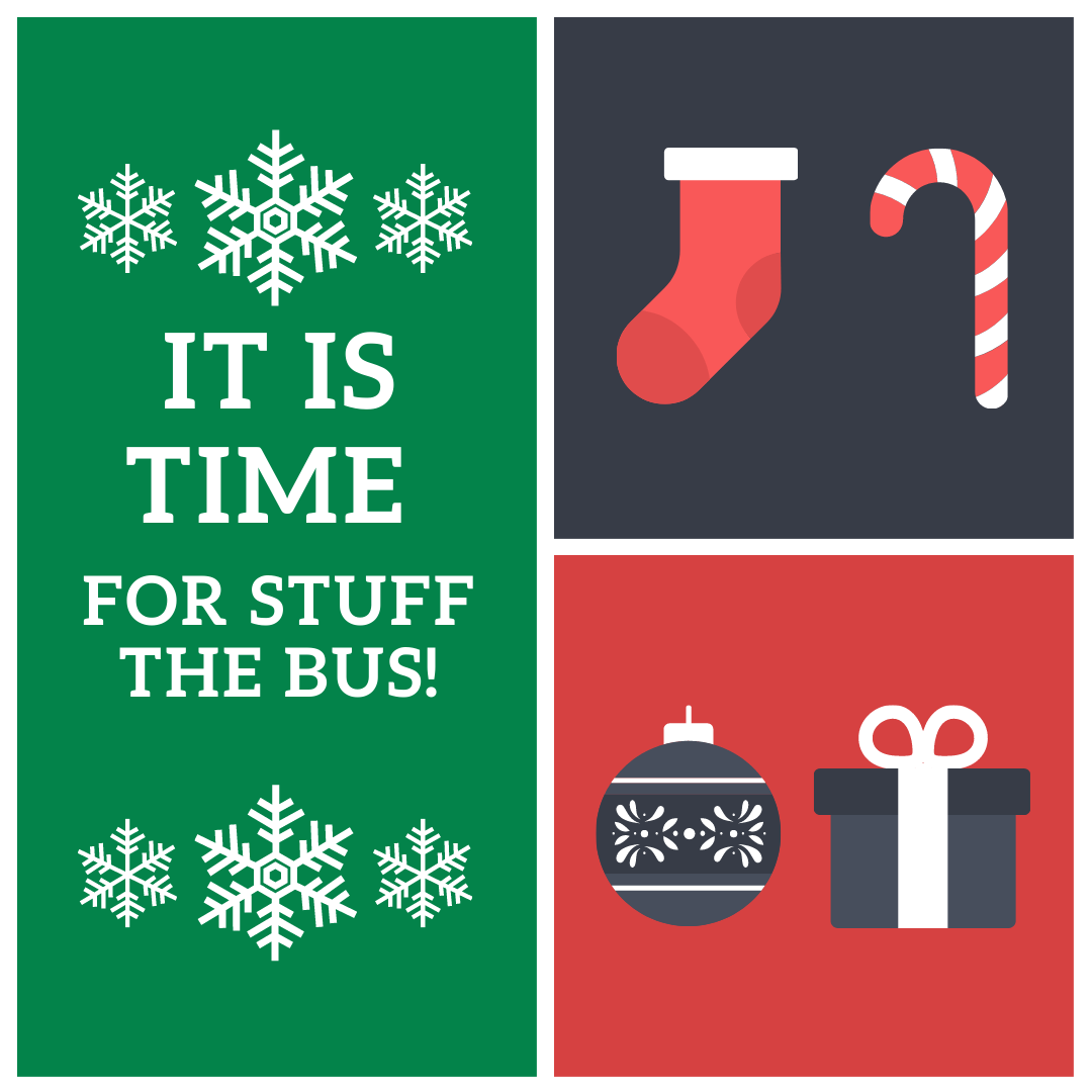 It is time for Stuff the bus
