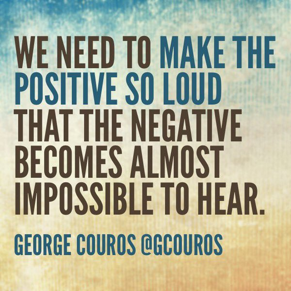 Make Positive Loud
