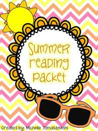 FMS Summer Reading Packets