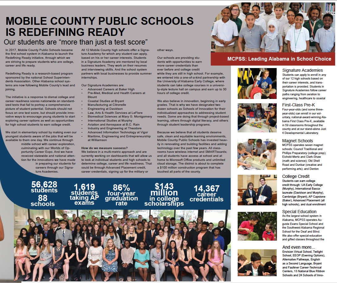 Mobile County Public School Calendar 2016 2020 Home