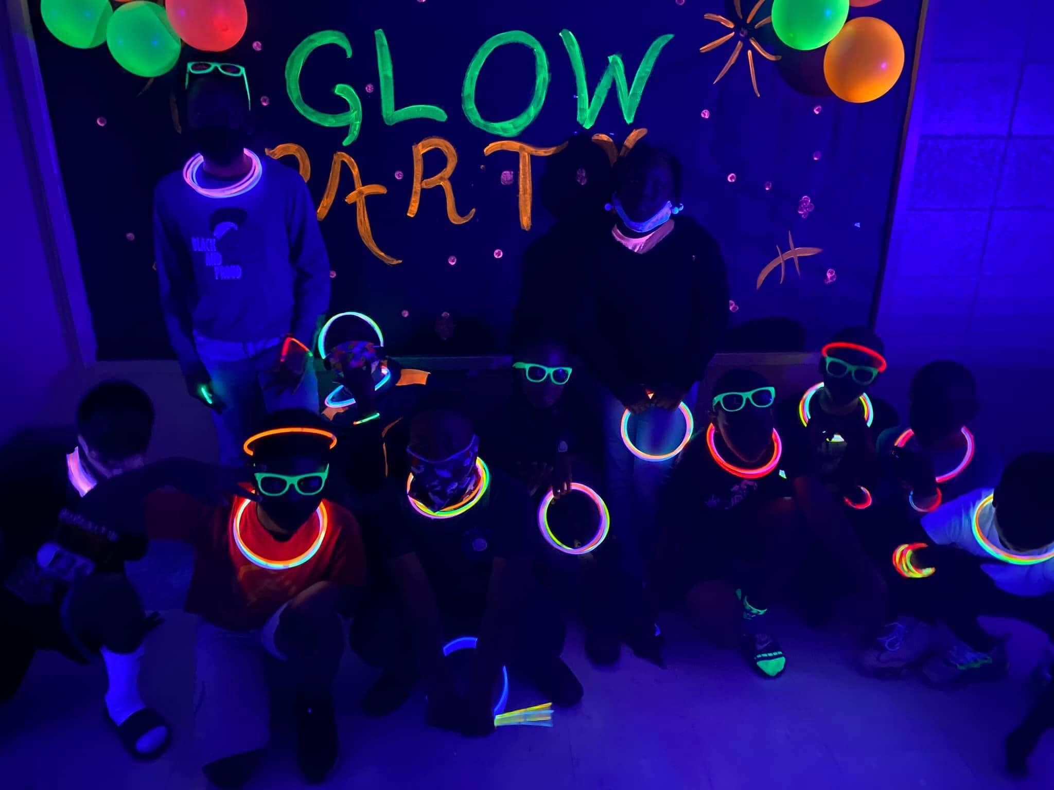 Attendance Glow Party