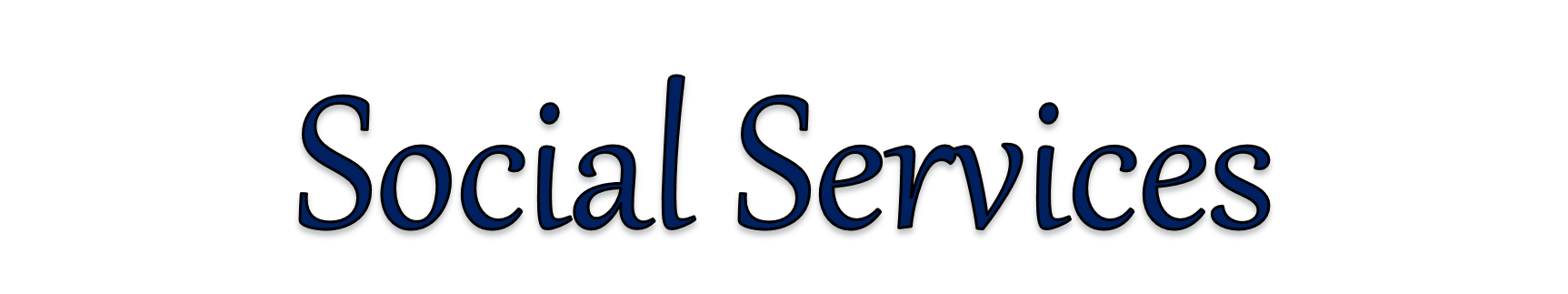 Social Services Page