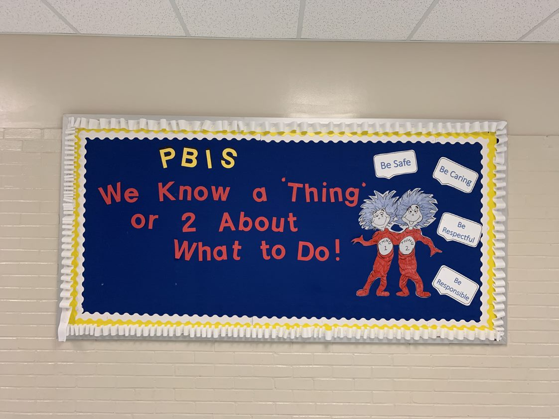 We know a thing or 2 about PBIS at LES!