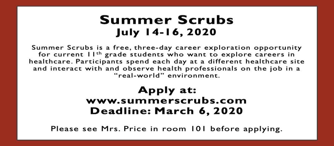 Summer Scrubs