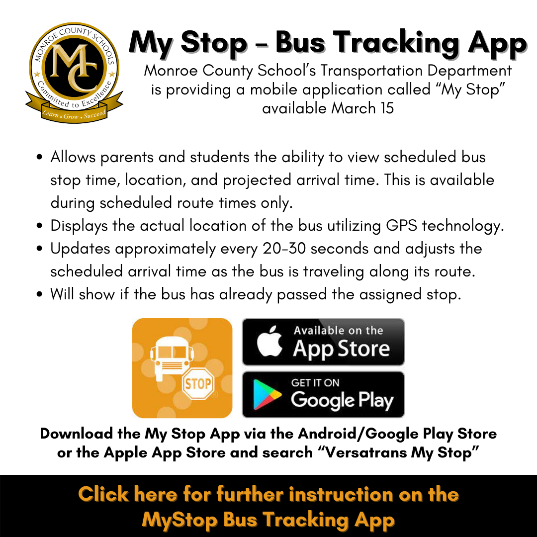 My Stop Bus Tracking App
