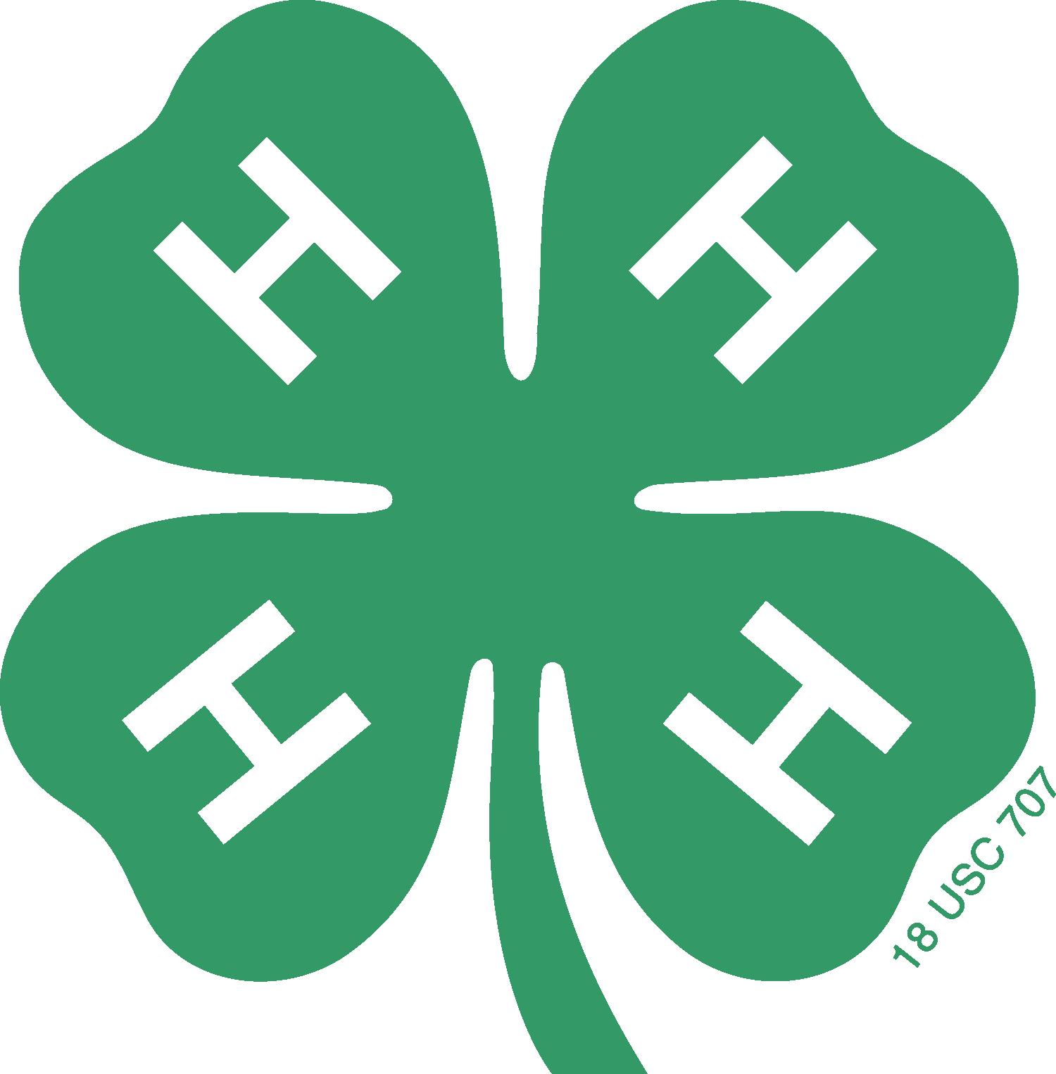 4 H Logo