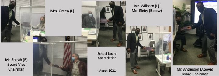 Board Appreciation March 2021