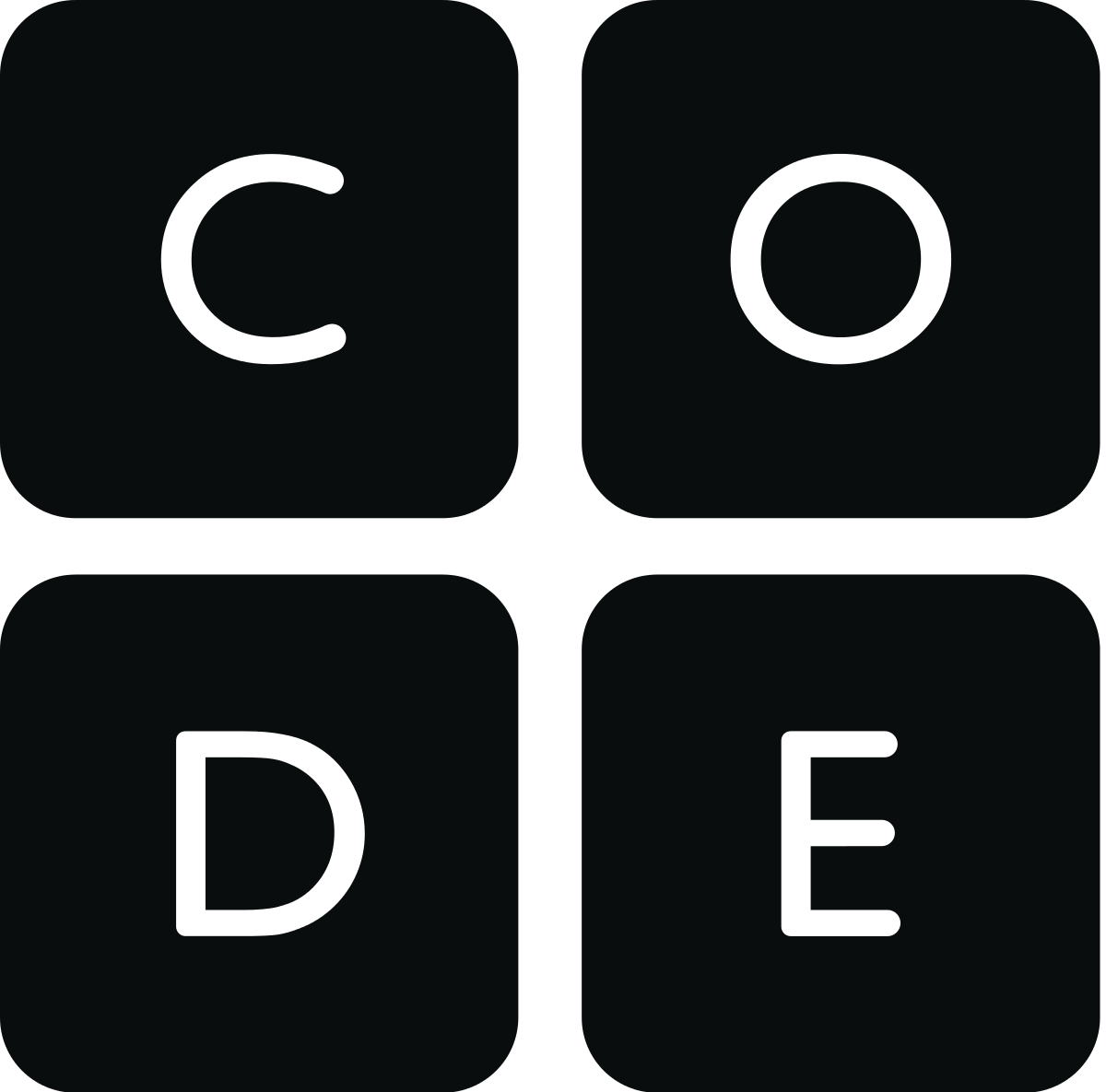 Code.org logo with link