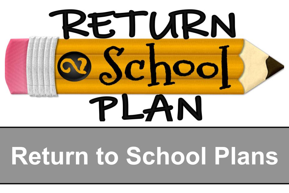 RCES Back to School Plan