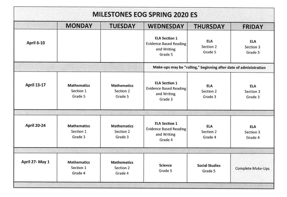 GMAS Schedule