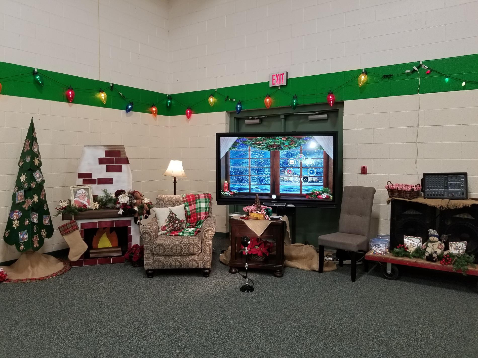 Santa Scene