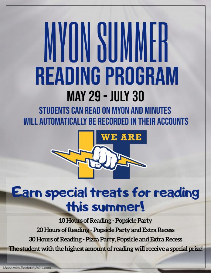 myon summer reading