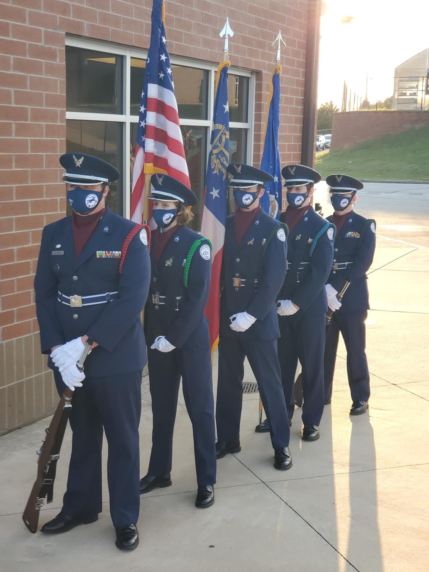 JROTC Color Guard