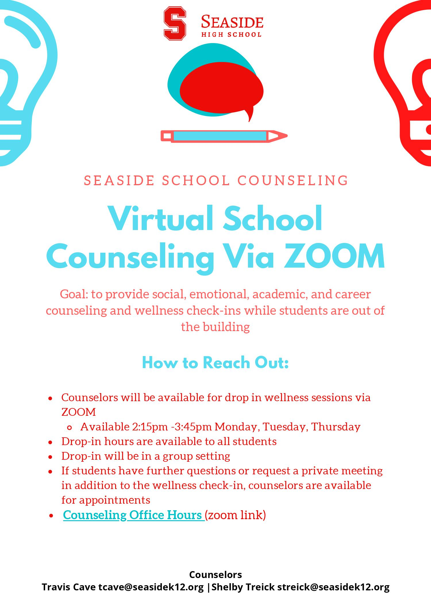 Counselor Flier English