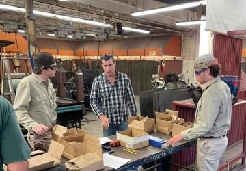 BBTC welding  students